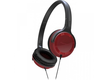 Наушники PIONEER SE-MJ502 Black/ Red (SE-MJ502-R)