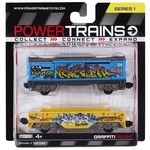 Набор Power Trains из двух вагонов Графит (JP48630-1)