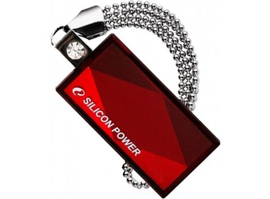 USB флеш-накопитель SILICON POWER 4GB Touch 810 red (SP004GBUF2810V1R)