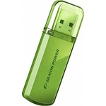 USB флеш-накопитель SILICON POWER 8GB Helios 101 green (SP008GBUF2101V1N)