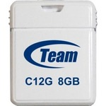 USB флеш-накопитель TEAM 8GB C12G White USB 2.0 (TC12G8GW01)