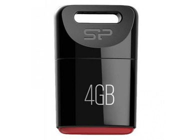 USB флеш-накопитель SILICON POWER 4GB Touch T06 Black (SP004GBUF2T06V1K)