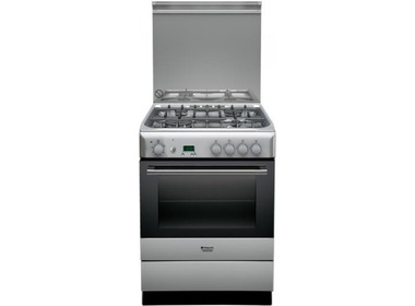 Плита HOTPOINT-ARISTON H6TG5F C X