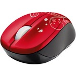 Мышка TRUST Vivy Wireless Mini Mouse - Red Swir