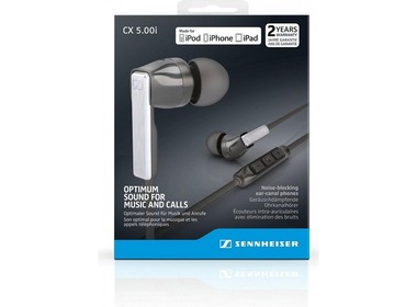 Гарнитура SENNHEISER CX 5.00i (Black, White)