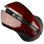 Мышь GREENWAVE Fiumicino USB, black-cherry (R0013754)