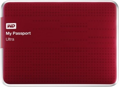 Внешний HDD 2.5 1TB WD My Passport Ultra (Red, WDBZFP0010BRD-EESN)