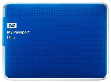 Внешний HDD 2.5 2TB WD My Passport Ultra (Blaue, WDBMWV0020BBL-EESN)