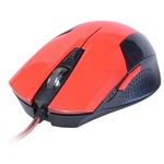 Мышка GREENWAVE MX-222L USB, red-black (R0013759)