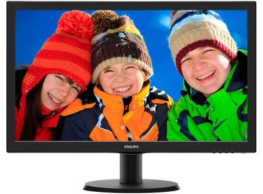 Монитор PHILIPS (233V5LAB/01) Black