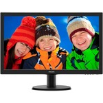 Монитор PHILIPS (243V5LHSB/01) Black