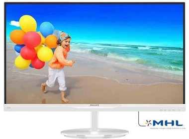 Монитор PHILIPS (274E5QHAW) White
