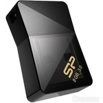 USB флеш-накопитель SILICON POWER Jewel J08 8GB USB 3.0 Black (SP008GBUF3J08V1K)