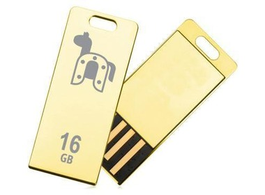USB флеш-накопитель TRANSCEND JetFlash T3G 32GB (Golden) Limited Edition (TS32GJFT3G_)