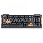 Клавиатура REAL-EL 8500 Gaming, USB, black