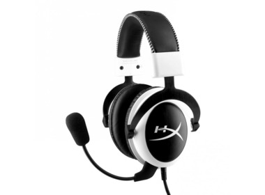 Гарнитура KINGSTON HyperX Cloud Gaming Headset White (KHX-H3CLW)