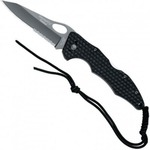Нож складной FOX Pocketknife Handle Titanium Coating Blade 1/3 serrated (BF-105TiS)