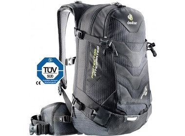 Рюкзак туристический DEUTER Descentor EXP 18 SL black pinstripe (33631 7001)