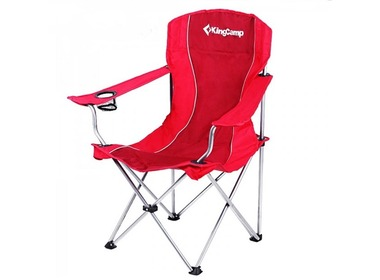 Кресло KINGCAMP Arms Chairin Steel Red (KC3818)
