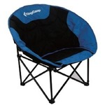Кресло KINGCAMP Moon Leisure Chair Black-Blue (KC3816)