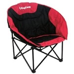 Кресло KINGCAMP Moon Leisure Chair Black-Red (KC3816)