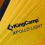Палатка KINGCAMP Apollo Light Yellow (KT3002)