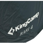 Палатка KINGCAMP Bari 4 Grey-Blue (KT3030)