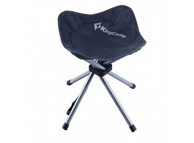 Стул KINGCAMP FourlegsStool 4 (KC3868) Dark grey