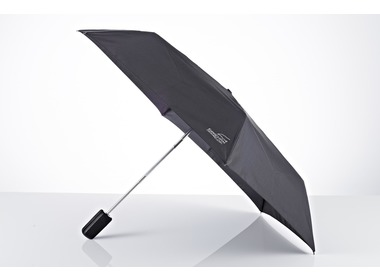 Зонт EUROSCHIRM Super flat leather umbrella black (3034-CBL/SU18117)