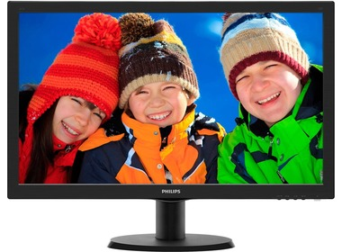 Монитор PHILIPS 243V5LSB/00 Black (243V5LSB/00)
