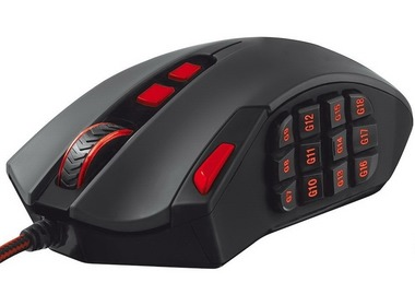 Мышь TRUST GXT 166 Mmo gaming laser mouse (19816)