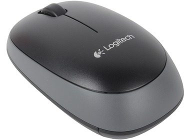 Мышь LOGITECH Wireless Mouse M165 Black,EER2 (910-004110)