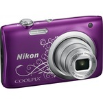 Фотокамера NIKON Coolpix A100 Purple Lineart