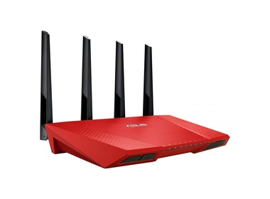 Маршрутизатор Wi-Fi ASUS RT-AC87U Red (RT-AC87U_R)