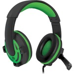 Гарнитура DEFENDER Warhead G-300 Black/Green (64128)