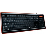 Клавиатура GEMBIRD KB-6050LU-UA black-orange, подсветка