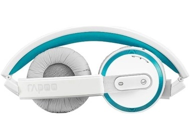 Стереогарнитура RAPOO H6080 bluetooth 4.0, Blue