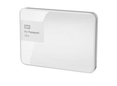 Внешний HDD 2.5 500Gb WD My Passport Ultra White (WDBWWM5000AWT-EESN)