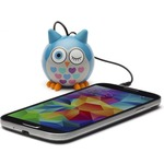 Акустическая система KITSOUND Mini Buddy Speaker Owl Blue (KSNMBOWLBL)