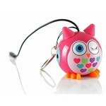 Акустическая система KITSOUND Mini Buddy Speaker Owl Pink (KSNMBOWL)