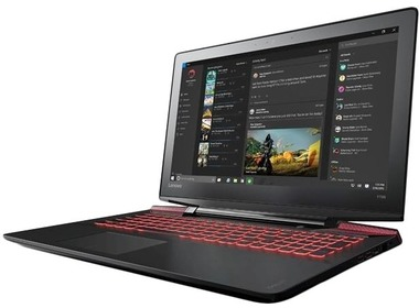 Ноутбук LENOVO IdeaPad Y700-15 Black (80NV00ENUA)