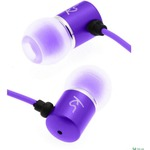 Гарнитура KITSOUND Ace In-Ear Headphones with mic Purple (KSACEMPU)