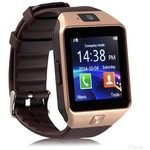 Умные часы SMARTYOU DZ09 Gold/Brown (SWDZ09GB)