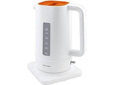 Чайник MYSTERY MEK-1618 white/orange