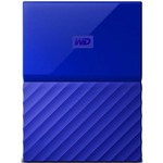 Внешний HDD 2.5 1.0TB WD My Passport Blue (WDBYNN0010BBL-WESN)