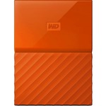 Внешний HDD 2.5 1.0TB WD My Passport Orange (WDBYNN0010BOR-WESN)