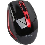 Мышь беспроводная A4-TECH G11-590 FX Black-Red USB V-Track