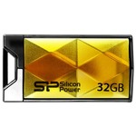 USB флеш накопитель SILICON POWER 32GB Touch 850 Amber USB 2.0 (SP032GBUF2850V1A)