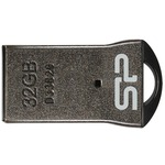 USB флеш накопитель SILICON POWER 32GB Touch T01 Black (SP032GBUF2T01V3K)