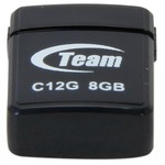 USB флеш накопитель TEAM 8GB C12G Black USB 2.0 (TC12G8GB01)